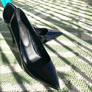 Aldo size 6.5 US Laralilla black stiletto.